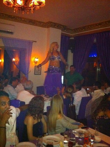 Mor Meyhane belly dancer Turkey