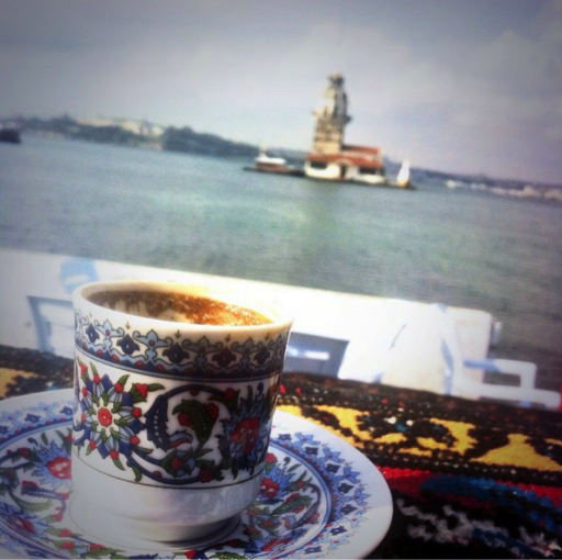 Turkish Coffee with the Maiden's Tower