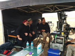 Russell Crowe on set 300x225 3 ways to absorb Gallipoli in 2015