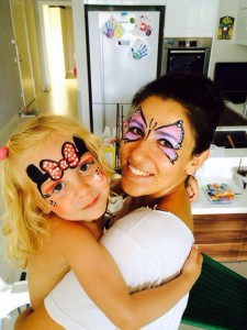 mel pic 6 225x300 Face Painting Istanbul